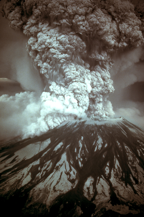 1980 eruption of Mount St. Helens in Washington
