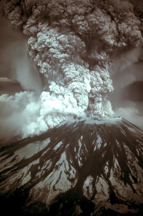 1980 eruption of Mount St. Helens in Washington