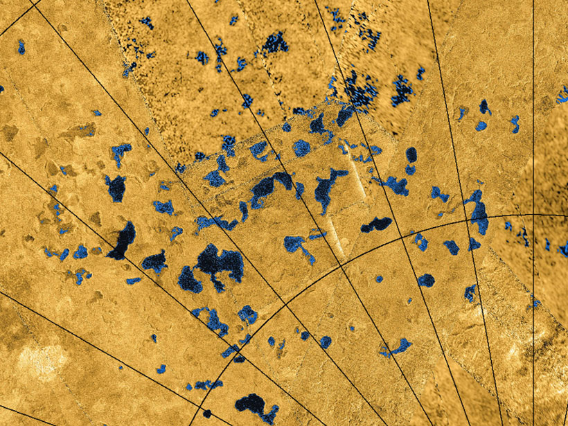 Titan's Northern Lake District Has Hidden Depths