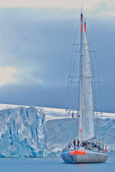 Tara Oceans expedition in polar region