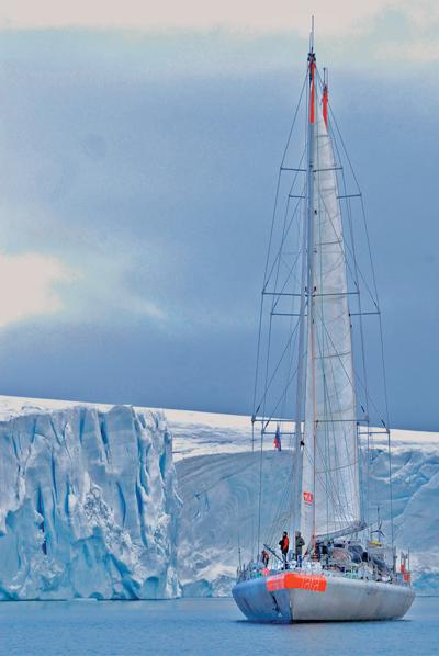 Tara Oceans expedition in polar region