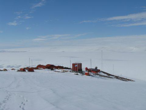 Belgrano II scientific base in Antarctica