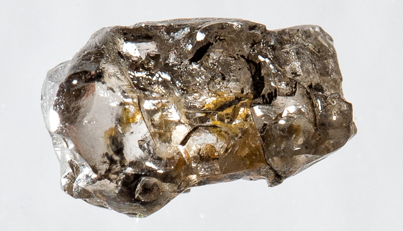 Close-up photo of an uncut diamond