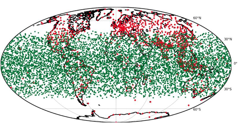 FORMOSAT-7/COSMIC-2 satellites produce 5,000 low- to middle-latitude RO soundings per day.