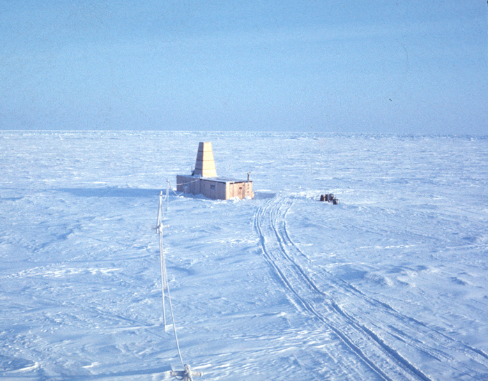 USGS Hydrohut on the ice island in 1969