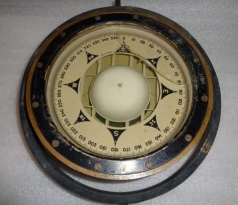 Photo of a mariner's compass