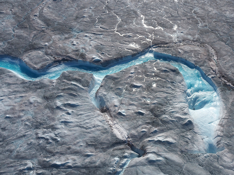 Greenland Ice Sheet Beats All-Time 1-Day Melt Record