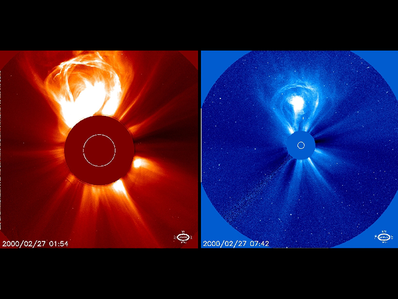 Forecasting Solar Storms in Real Time