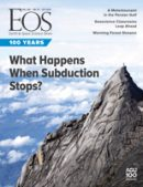 Cover of the October 2019 issue of Eos