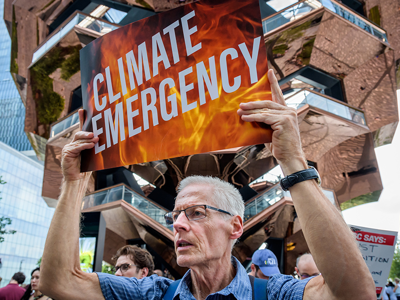 Scientists Praise Urgency, Aggressive Plans in Climate Town Hall
