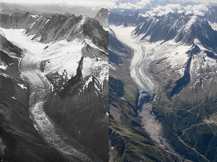 Europe's Mightiest Glaciers Are Melting