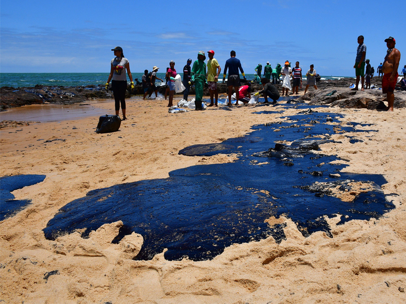 Brazil's Oil Spill Is a Mystery, so Scientists Try Oil Forensics