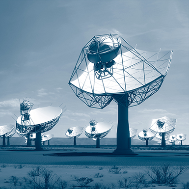 Artist's impression of the Square Kilometer Array