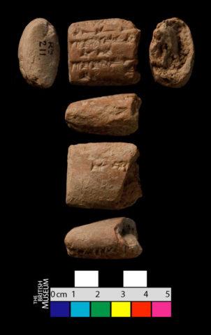 Neo-Assyrian tablet cuneiform tablet