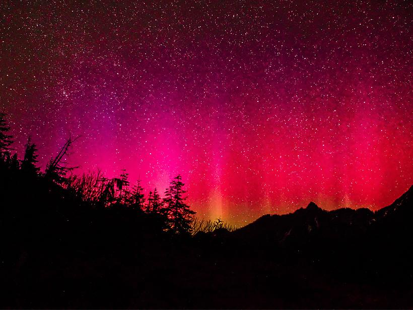 red aurora.