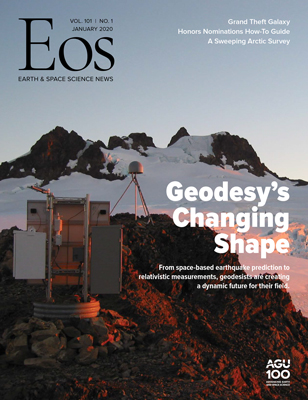 cover of January 2020 Eos