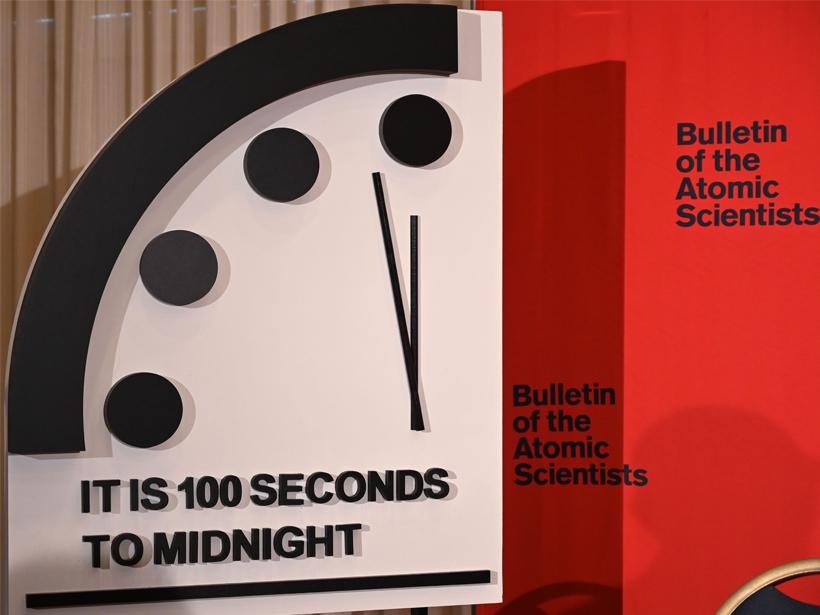 Doomsday Clock Ticks Closer to Midnight - Eos