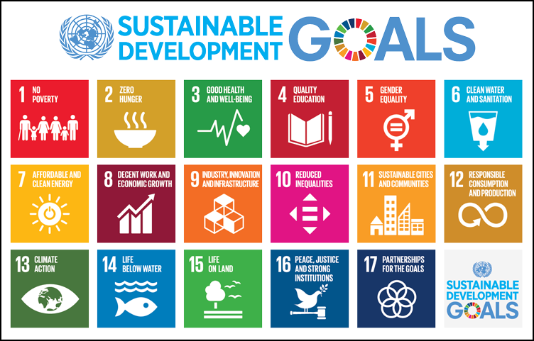 Infographic of all the Sustainable Development Goals