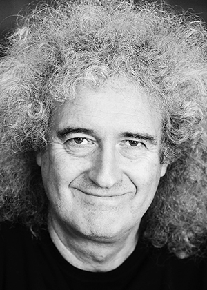 Brian May, winner of AGU's 2019 Athelstan Spilhaus Award