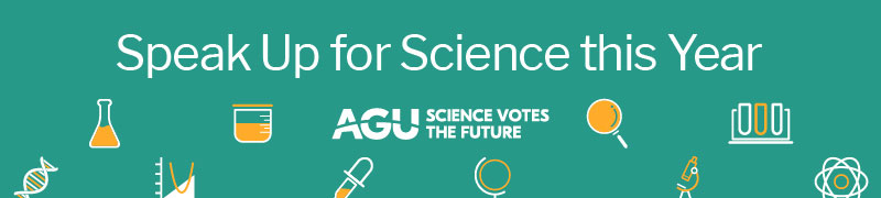 Speak up for science this year