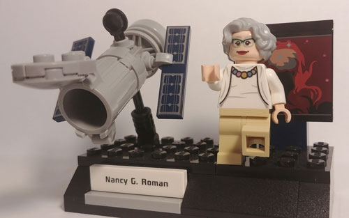 Nancy Grace Roman's LEGO set