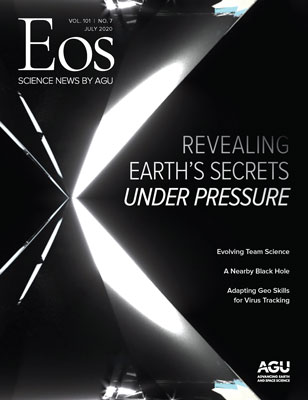 Cover of July 2020 Eos