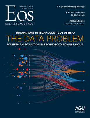 cover of August 2020 Eos