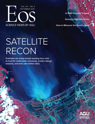 cover of September 2020 Eos