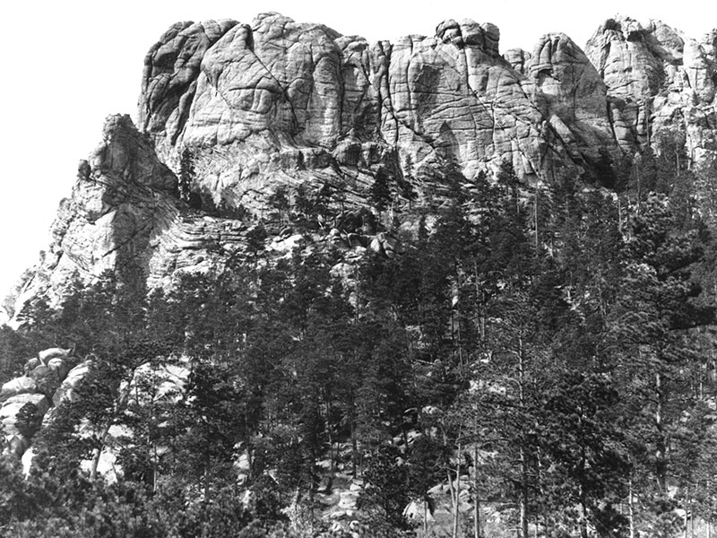 Before it was carved into Mount Rushmore, Six Grandfathers was crowned by a skyline of domed granite.