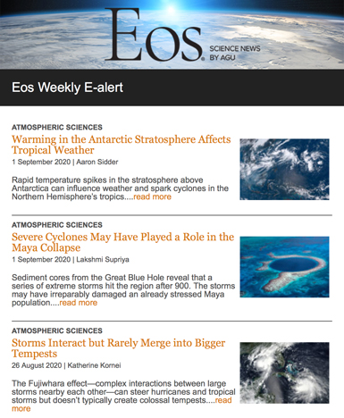 Image of Eos e-alert
