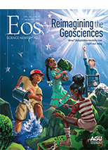 cover of November-December 2020 issue of Eos