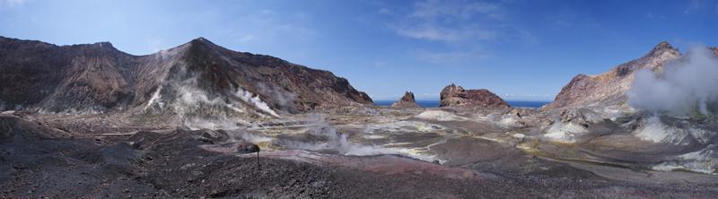A panorama of Whakaari/White Island