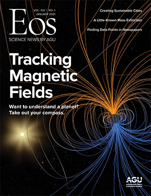 cover of January 2021 Eos