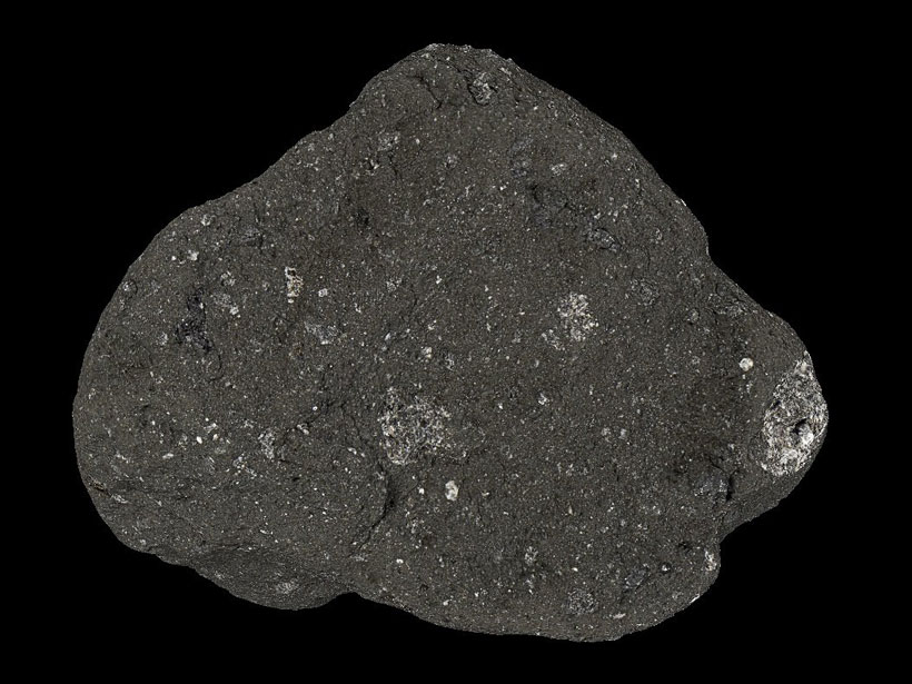 The Contingency Sample, the first rock picked up from the Moon