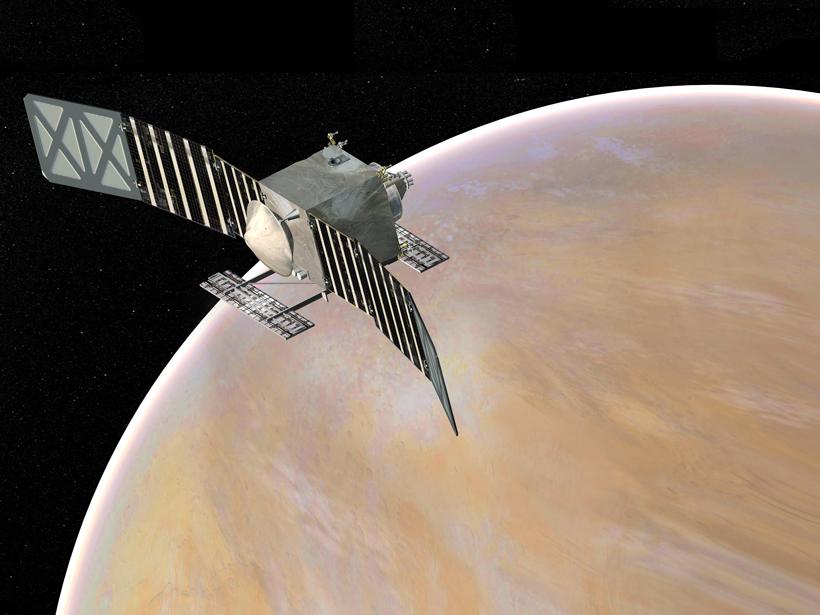 Artist's rendering of the VERITAS orbiter