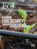 Cover of the February 2021 issue of Eos