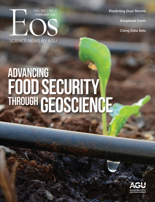 cover of February 2021 Eos