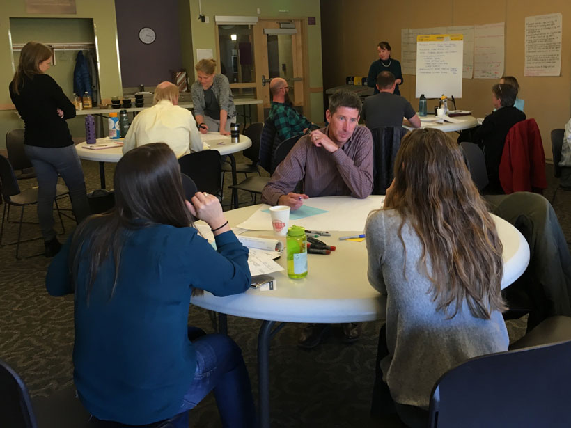 Durango community forest managers and partners discuss climate-adaptive management strategies for the city.