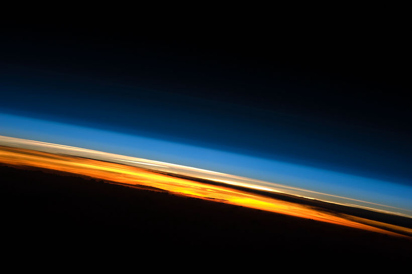 Image of the Earth's atmosphere