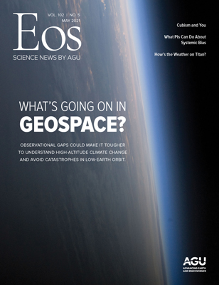 cover of May 2021 Eos