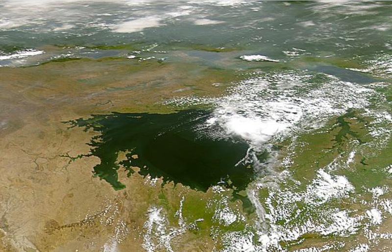Satellite image of Lake Victoria