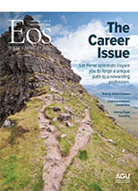 cover of September 2021 issue of Eos