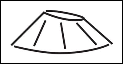 Geomoji del cono de un volcán