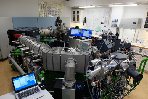 Secondary Ion Mass Spectrometer at the Swedish Museum of Natural History