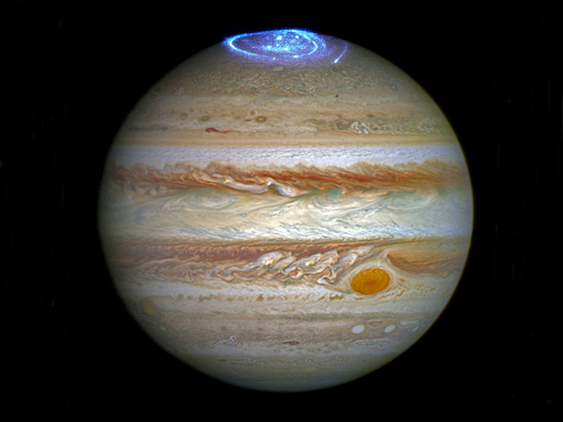 Could Low-Altitude Reconnection Power Jupiter's Polar Aurorae? - Eos